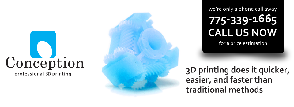 3D Printing does it quicker, easier and faster than traditional methods
